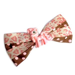 Pastel Pink My Little Pony Hair Bow